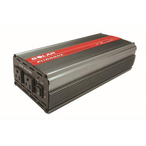 Solar 1000 Watt Power Inverter - Input Voltage: 12 V Dc - Output Voltage: 115 V Ac - Continuous Power: 1 Kw (pi10000x)