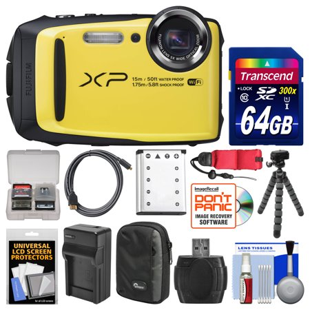 Fujifilm Finepix Xp90 Shock Amp Waterproof Wi Fi Digital