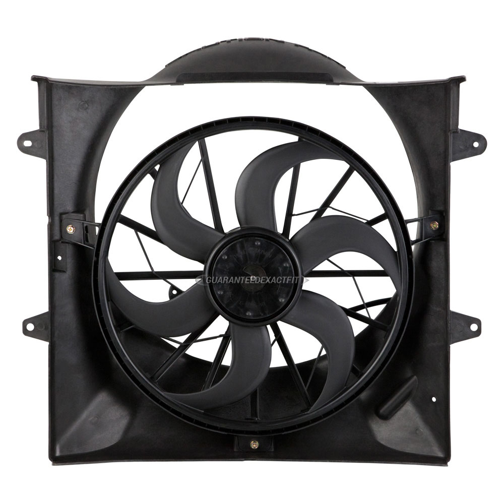 New Radiator Or Condenser Cooling Fan Assembly For Grand Cherokee And Liberty by BuyAutoParts