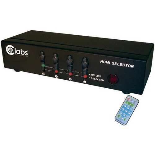 CE Labs Ceihm41Sr Rs232 Control Support 4-In 1-Out Hdmi S...
