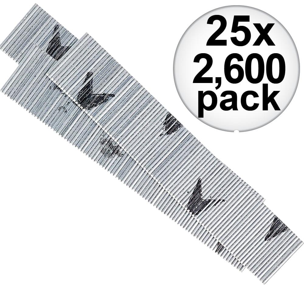 "Senco A101259 2,600pk 1-1/4"" 23 Gauge Galvanized Micro Pin Nails 25-Pack"