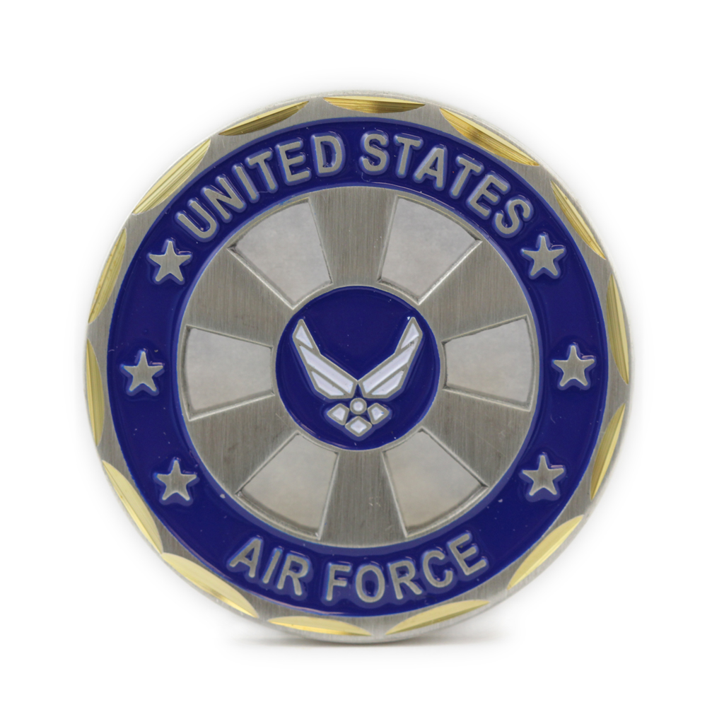 US Air Force Logo Wheel Coin