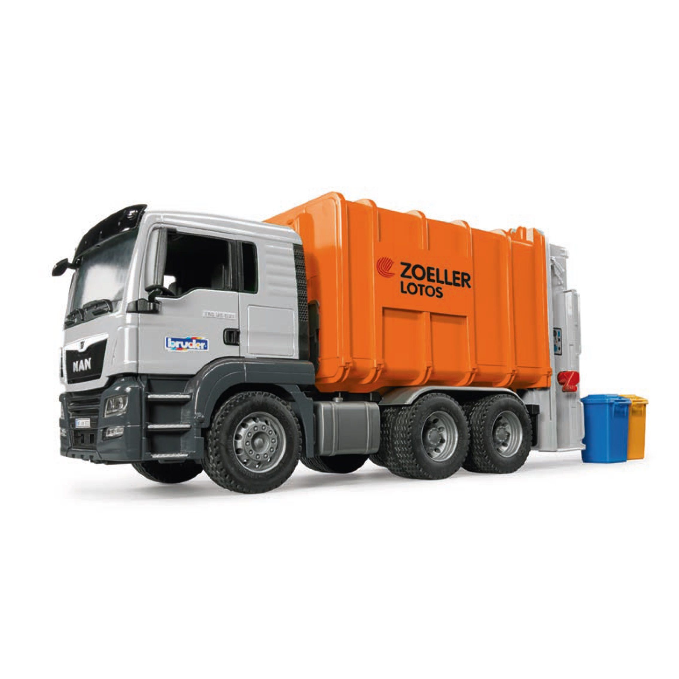 Bruder Toys Man TGS Construction Dump Truck - Vehicle Toy by Bruder Trucks (03765)