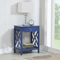 Comfort Pointe Thomas 1 Drawer Chippendale-style Nightstand