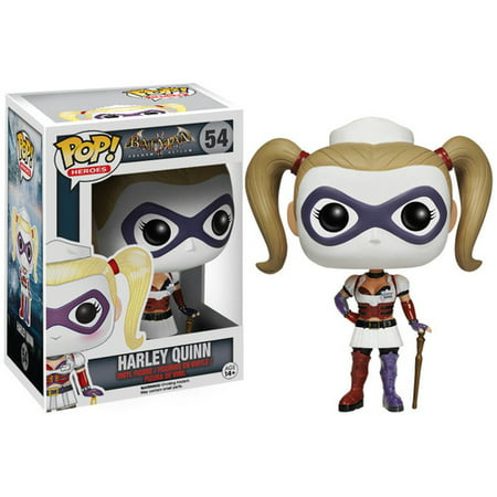 FUNKO POP! HEROES: ARKHAM ASYLUM- NURSE HARLEY - Arkham Asylum Harley Quinn
