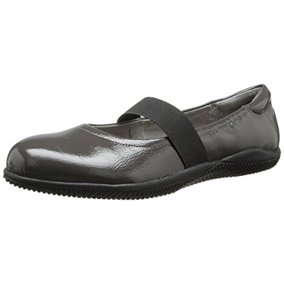 SoftWalk Womens High Point Patent Leather Casual Mary Janes by SoftWalk