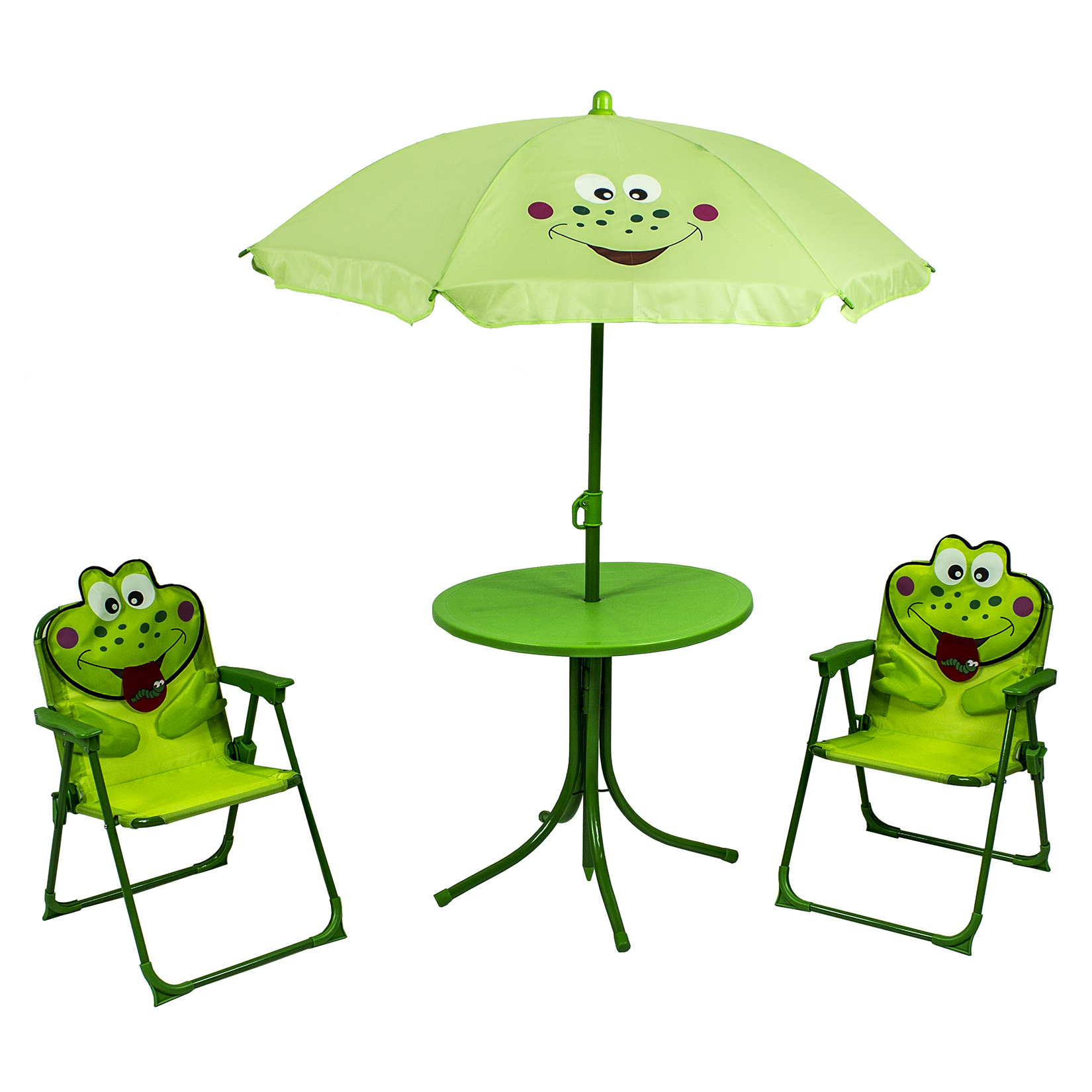 River Cottage Gardens PB101 Kids Frog Patio Set 4 Piece Set