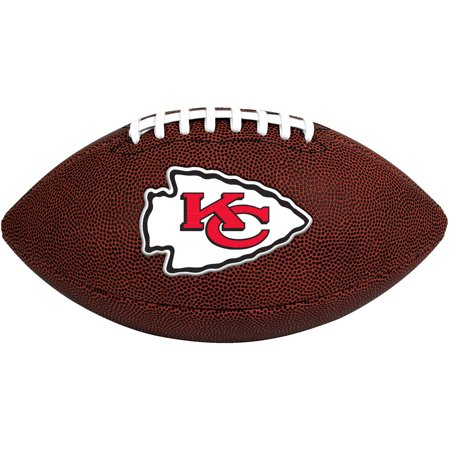 Rawlings NFL Official Size Game Time Football, Kansas City Chiefs