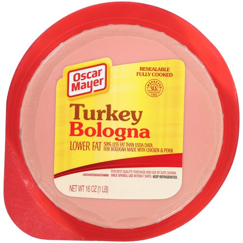 Louis Rich And Oscar Mayer Turkey Bologna Cold Cuts, 16 oz