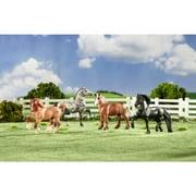 Breyer Stablemates Gentle Giants Draft Horse Set by Breyer