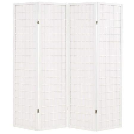 Spring Divider (Folding 4-Panel Room Divider Japanese Style 63