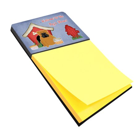 Dog House Collection English Bulldog Red Sticky Note Holder BB2876SN