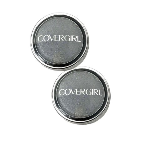 Lot of 2 CoverGirl Flamed Out EyeShadow Pot Charcoal 335 - 00887616