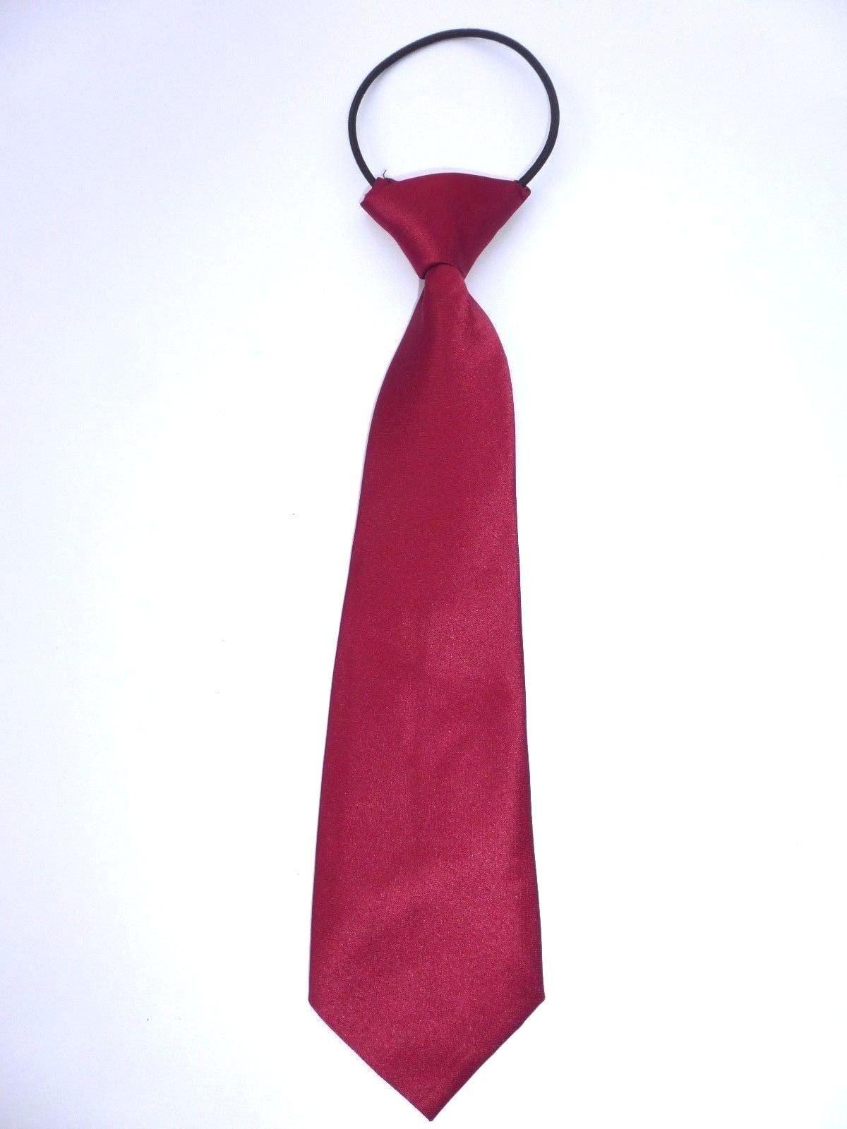 Pre-tied Elastic Neck Adjustable Tie Baby Toddler Kids Boys Girls Child  USA