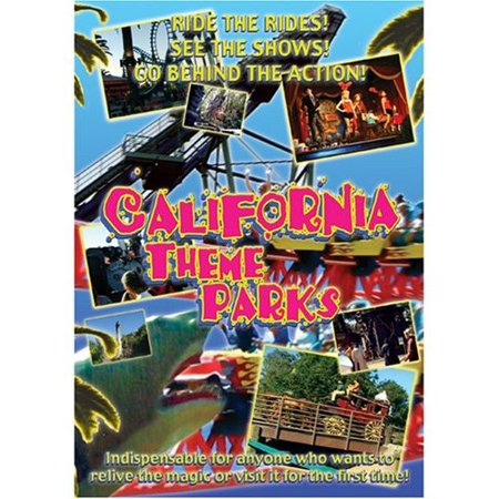 California Theme Parks (DVD) - Theme Park Halloween Events