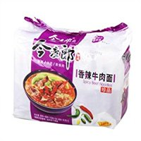 JML Instant Noodles Spicy Beef Flaver Noodles 110g* 5 Small Bags