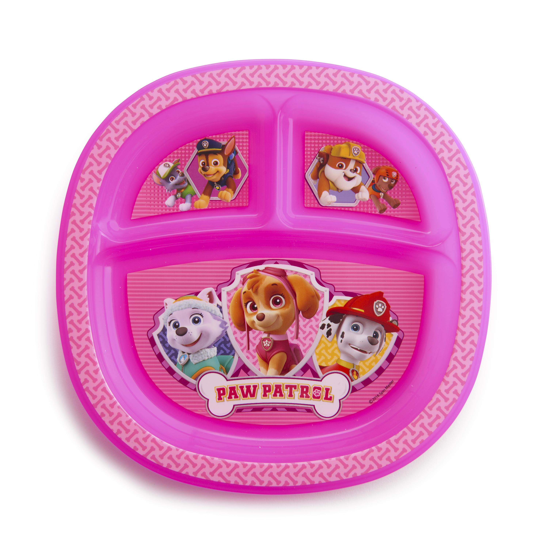 Munchkin Paw Patrol Toddler Plate, Pink