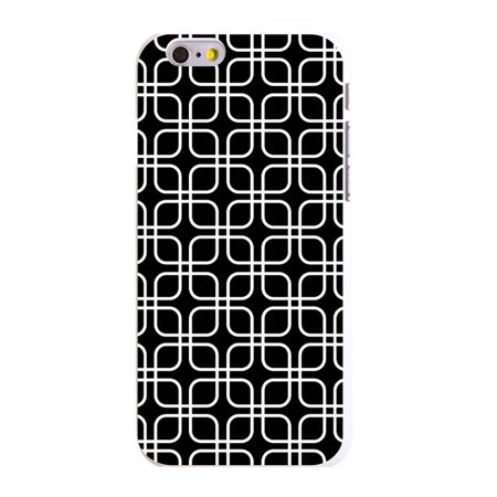 CUSTOM White Hard Plastic Snap-On Case for Apple iPhone 6 PLUS / 6S PLUS (5.5
