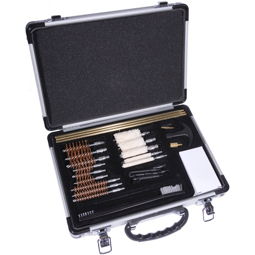 Winchester Universal Gun Cleaning Kit in Aluminum Case, 30pc