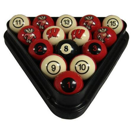 Wave7 UWIBBS100N University Of Wisconsin Billiard Numbered Ball Set - image 1 de 1