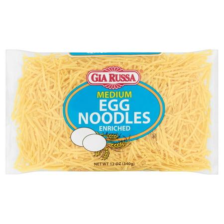 Alessi Cico Egg Cup - (6 Pack) Gia Russa Enriched Medium Egg Noodles, 12 oz