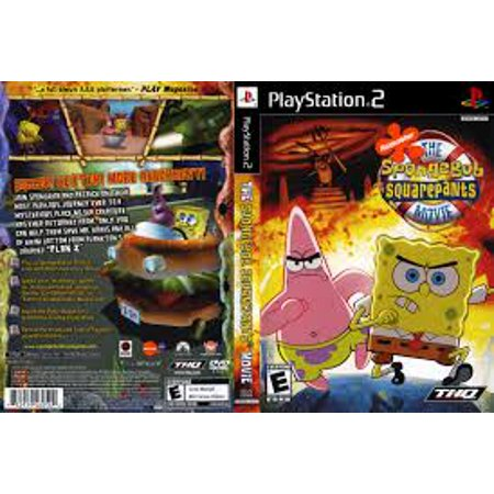 The Spongebob Squarepants Movie- PS2 Playstation 2 (Refurbished) ()