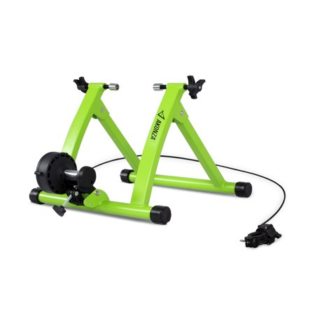 Akonza Pro Bicycle Trainer Stand 6 Levels Resistance Indoor Bike Exercise Wheel Magnetic Stand Trainer,