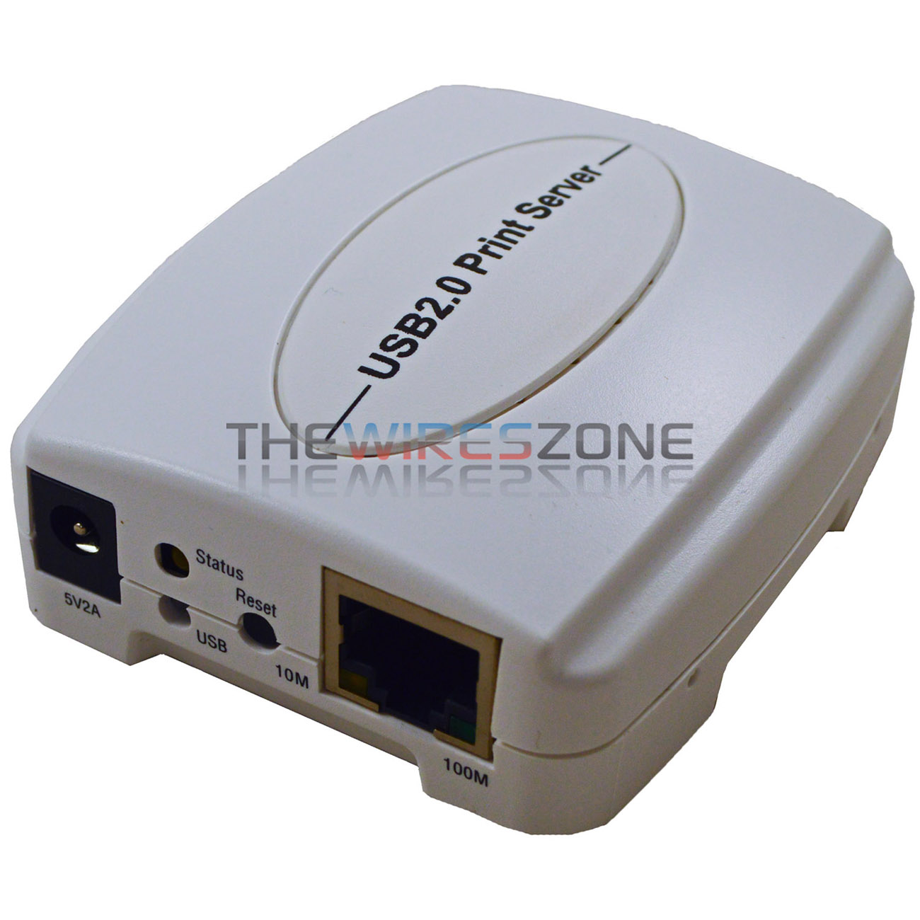 10/100Mbps USB 2.0 Fast Ethernet Network Wired Print Server for Windows OS
