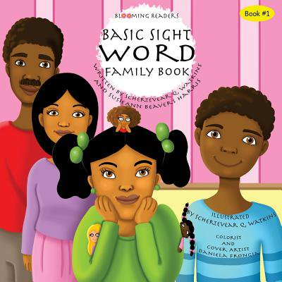 Blooming Readers-Basic Sight Word Family Book - Word Family Books