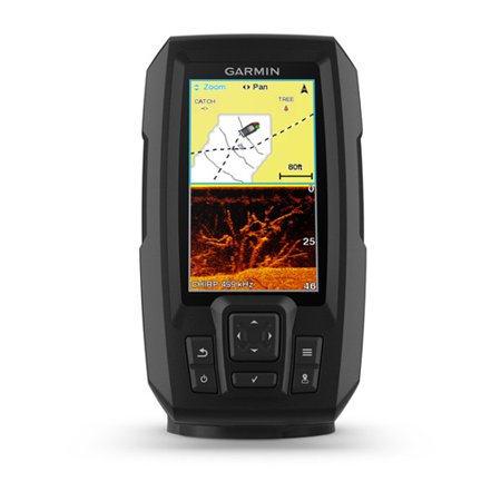 Garmin Fishfinder Protective Cover - Garmin Striker Plus 4cv 4 Inch CHIRP Fishfinder with CV20-TM Transducer