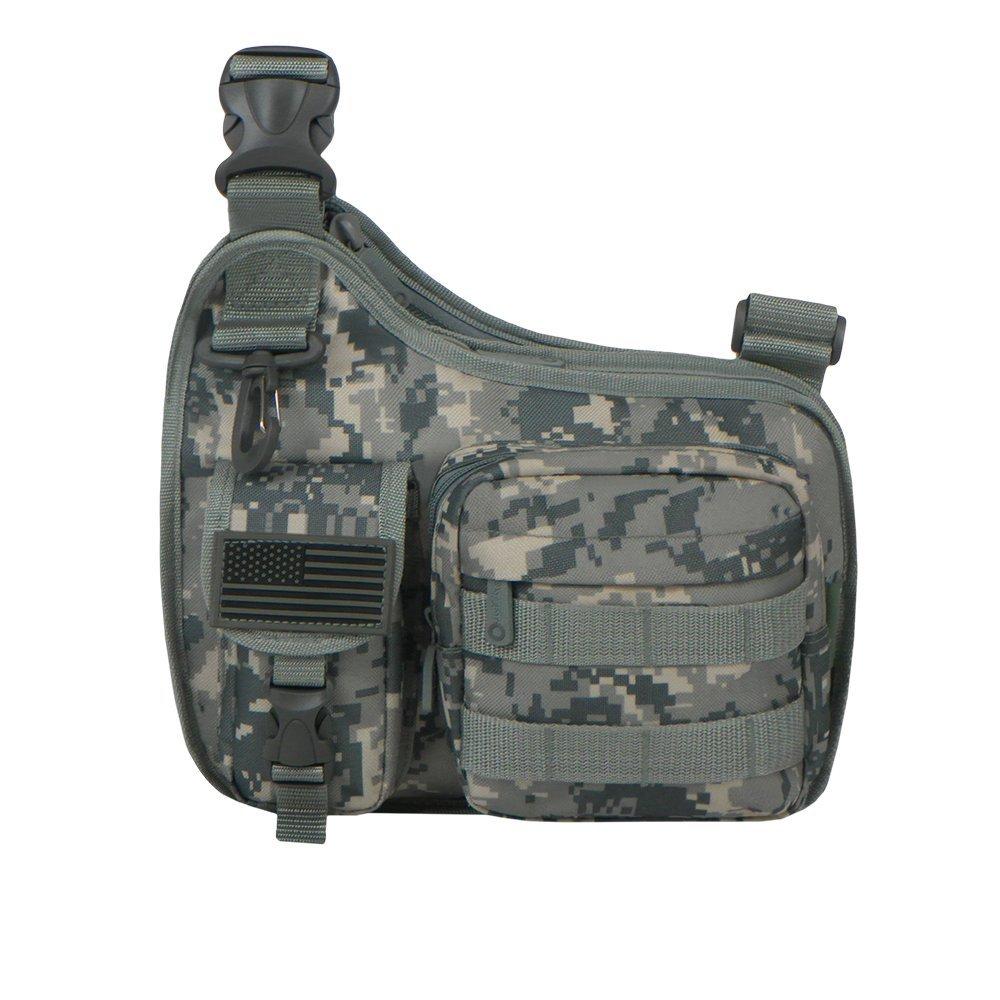 Travel Sport RTC518 Grey Camo Tactical Shoulder Sling Gun Range Holsters Cases Utility Bag