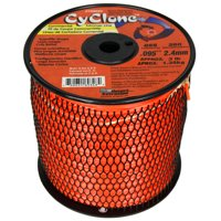 """Cyclone CY095S3 0.095"""" x 855' Commercial String Trimmer Line Orange, Made in the USA"""