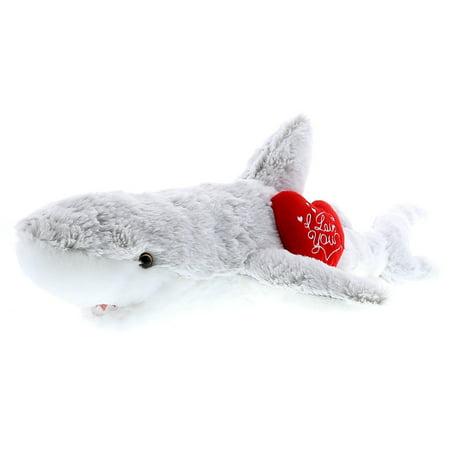 Super Shark (Super Soft Plush Dollibu Shark I Love You Valentines)