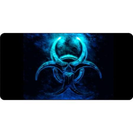 Biohazard Black Photo License Plate - image 1 of 1