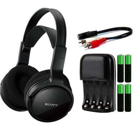 Sony Mdrrf912rk Wireless Home Theater Headphones Bundle Walmartcom