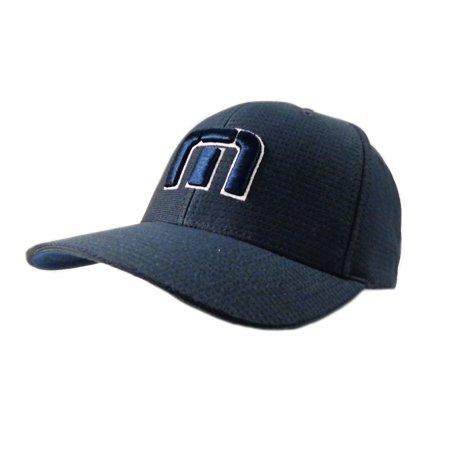 0436c916c1d NEW Travis Mathew B-Bahamas Navy Blue FlexFit Fitted L XL Hat Cap -  Walmart.com