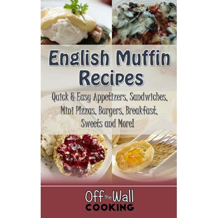 English Muffin Recipes : Quick & Easy Appetizers, Sandwiches, Mini Pizzas, Burgers, Breakfast, Sweets and More! - Halloween Pizza Appetizers