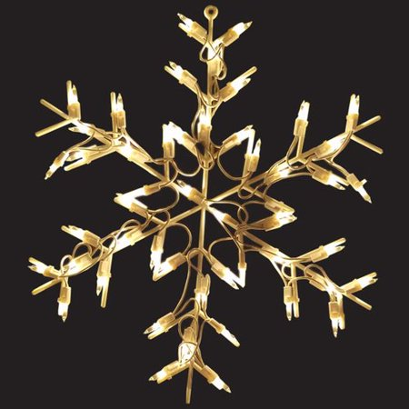 The Holiday Aisle Snowflake 50 Light String Light for $<!---->