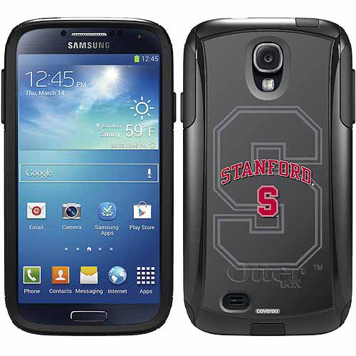 Stanford University Gray Watermark Design on OtterBox Commuter Series Case for Samsung Galaxy S4