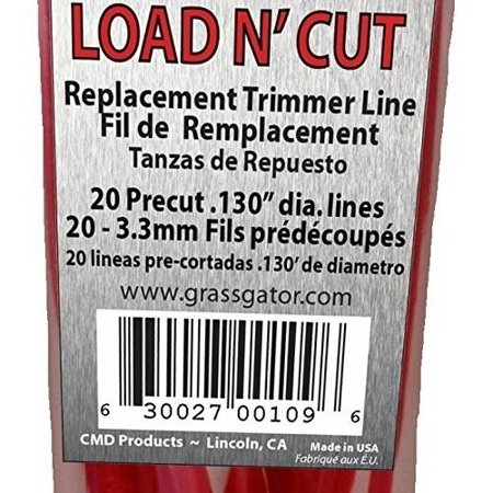 Cmd Products Inc Pre Cut Replacement Line