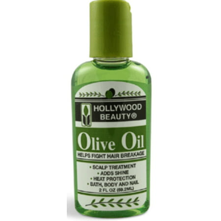 Hollywood Beauty Olive Oil Skin & Scalp Treatment, 2 oz (Pack of 2)