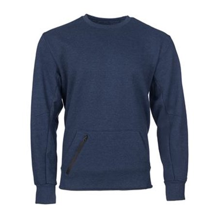 - Russell Athletic Cotton Rich Crewneck Sweatshirt XL Navy Heather