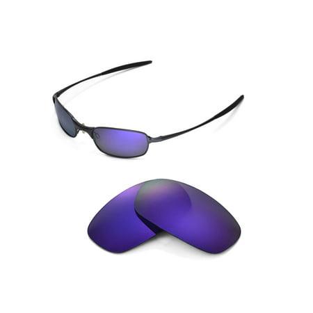 Walleva Purple Polarized Replacement Lenses For Oakley Square Wire 2.0 (Oakley Square Wire 2.0 Polarized Lenses)