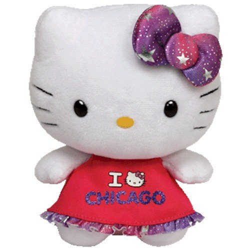 """""""Ty Beanie Babies Hello Kitty Plush, Chicago"""" by TY Inc"""