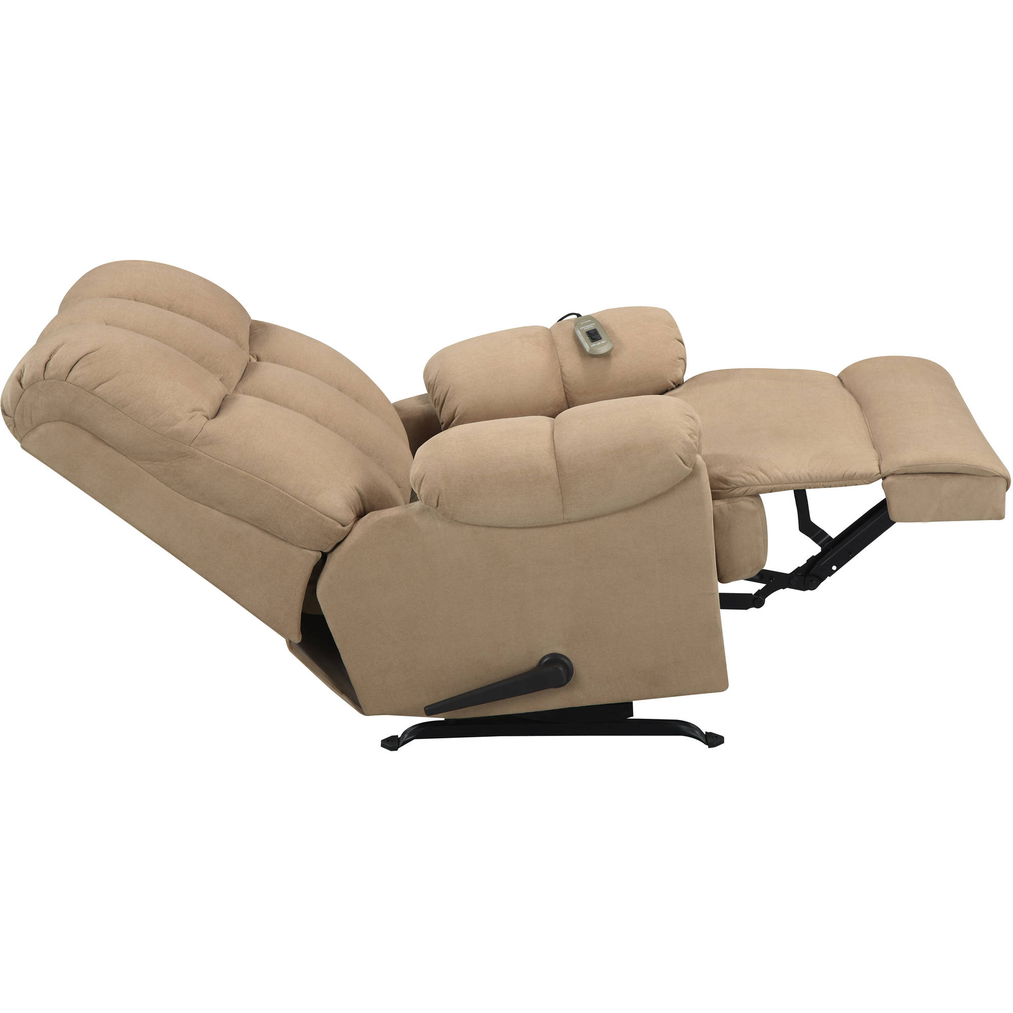 Dorel Living Padded Massage Rocker Recliner, Multiple Colors ...
