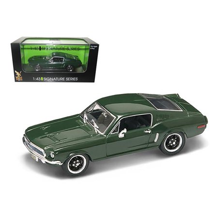 1968 Ford Mustang GT Green 1/43 Diecast Car Model Signature Series by Road - 1968 Camaro Green