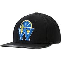 Golden State Warriors Pro Standard Blended Logo Adjustable Hat - Black - OSFA