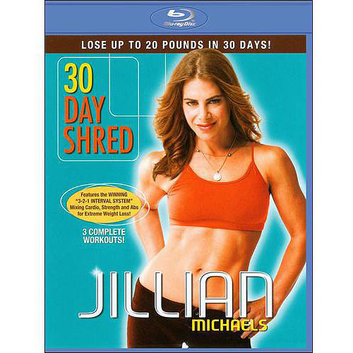 Jillian Michaels: 30 Day Shred (Blu-ray) (Full Frame)