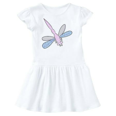 Purple Dragonfly Toddler Dress