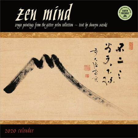 Zen Mind 2020 Wall Calendar: Zenga Paintings from the Gitter-Yelen Collection